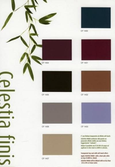 "Celestia - декоративная краска ""под замшу, кожу, резину"""