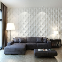 "Loop - декоративные 3d панели ""под волну"""